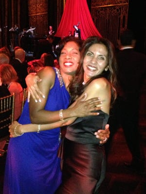 Abigail Flanagan, left, with her best friend, Lisa Schachter, at a Met Gala fundraiser in 2014. Abigail Flanagan of Sparkill, a nurse practitioner at the Columbia University Medical Center and a Columbia student, was killed in a Honduras bus crash when the group was heading to the airport to fly home after a volunteer humanitarian mission helping poor Hondurans.