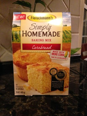 Fleischmann's cornbread mix