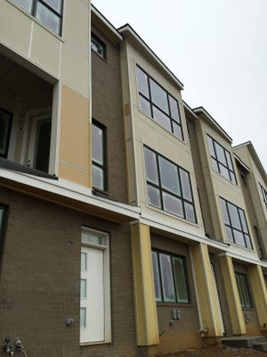 Prices at Melpark Townhomes to start in the low $400,000s.