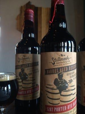 Stillmank Brewing Co. is releasing a limited batch of barrel-aged porter beginning Feb. 12.