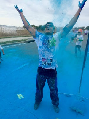 Gregory Isenhour ran the Color Vibe 5K for the first time in 2015 and is eager to return again in 2016.