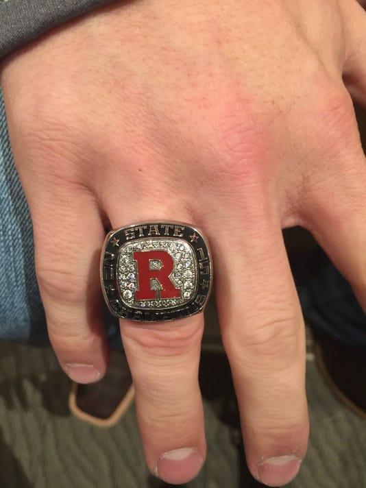 Ravenwood state championship ring