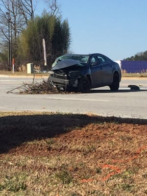 One person died and another person was injured in a collision in Anderson County.