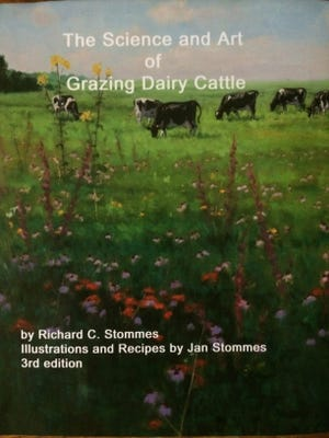 """The cover of """"The Science and Art of Grazing Daily Cattle"""" clues a reader in that this book is different than most."""