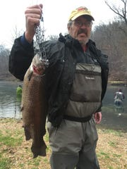 Dave Fornachon of Maryland Heights caught this 4.75-pound