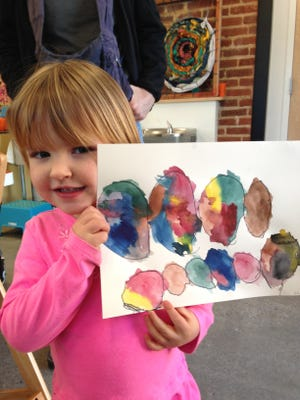 Roots and Wings School of Art and Design offers camp for preschoolers.