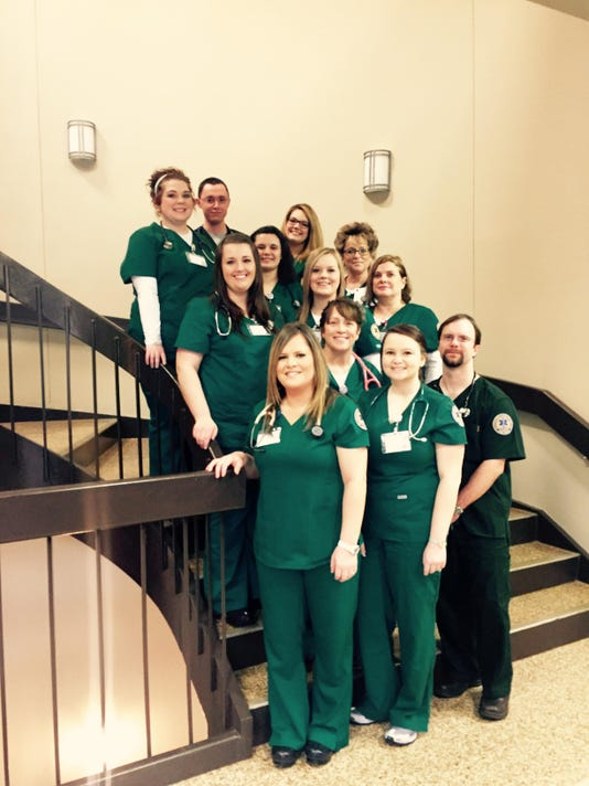 SCC's respiratory therapy students