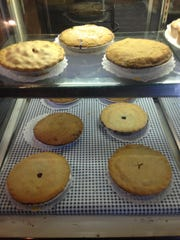 Minuteman Restaurant & Pie Shoppe in Morristown carries a variety of fruit pies.