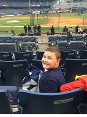 """On March 11 — the day before Landon Doychak's 10th birthday — all of Middlesex Borough's five public schools will participate in """"Lids For Landon,"""" a fundraiser inspired by Landon and created by his friend, Jacob Lyerly. Landon has Duchenne Muscular Dystrophy."""