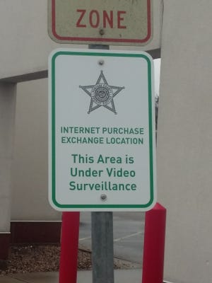 The Portage County Sheriff's Office has established a safe exchange location in front of its building at 1500 Strongs Avenue in Stevens Point.