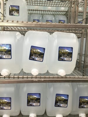 Residents on private wells whose water is contaminated with strontium are for the most part on their own when it comes to securing safe drinking water.