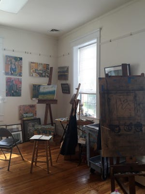 An empty studio space at Shenandoah Valley Art Center on a sunny afternoon in Waynesboro on Friday, March 11, 2016.