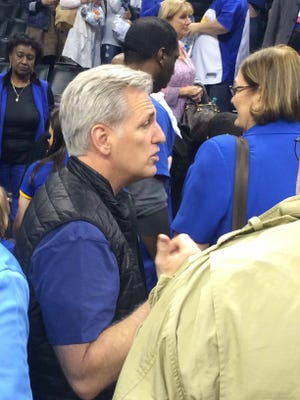 Kevin McCarthy of the U.S. House of Representatives was in attendance on Friday in Oklahoma City.