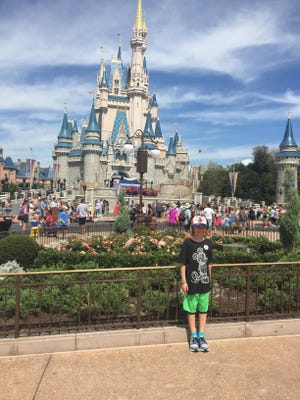 Jack had a great time at The Magic Kingdom.