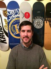 Alan Presutti is board president of the Friends of the Roc City Skateboard Park.