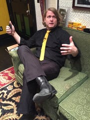 Ben Blackwell, in his office at Third Man Records in Nashville.