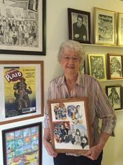 Dot Warwick, grandmother of theatrical illustrator