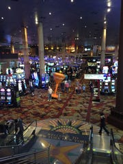 The casino at New York-New York hotel & casino in Las