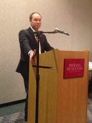 Rep. Marlin Stutzman, one of two Republicans running