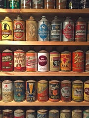 Just some of the gems from the collection of a local beer collector.