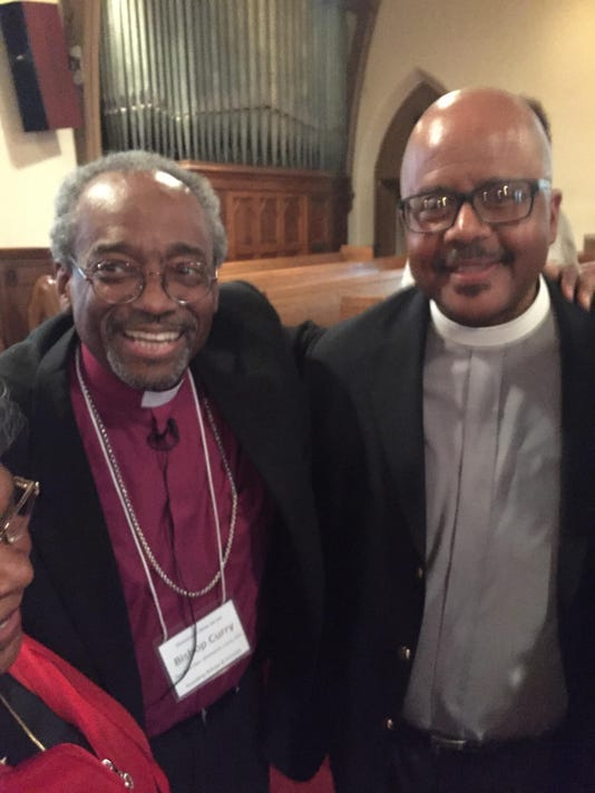 Bishop Curry and Rev. Clemons