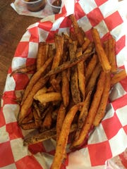 Fries from Pop's Old N' New Bar-B-Q.
