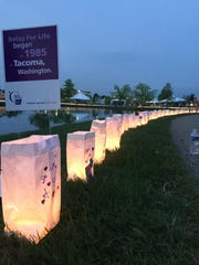 The luminaria ceremony of Relay for Life is among the events.