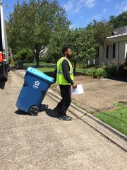 New recycling bins are being delivered to 38,135 city