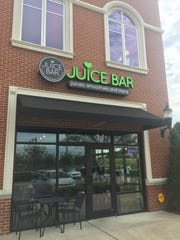 The Juice Bar is located at 804 N. Thompson Lane, Suite 1J, in Murfreesboro.