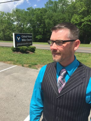 Pastor Greg Locke has gotten more than 40 million page views for his two-minute videos on current events and spiritual matters. He created Global Vision Bible Church, which moved into its Mt. Juliet home five years ago.