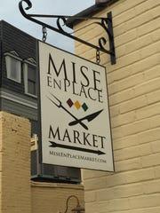 Mise En Place sign