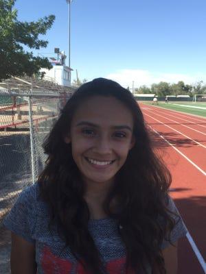 Socorro distance runner Natalie Gomez