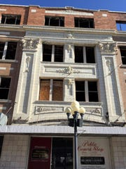 Rocky Mountain Building at Central Avenue and 6th Street was damaged by a fire in 2009.
