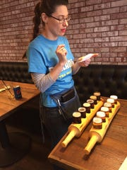 Alice O VanZyll de Jong presents a detailed description of beers she serves in two flights at the Meadowlark in Sidney.