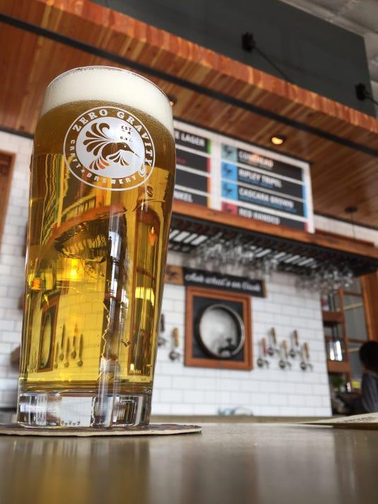 Zero Gravity light beer