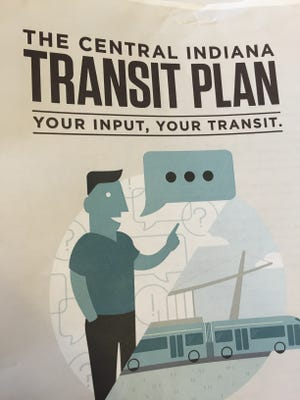 This booklet explains plans for IndyGo transit upgrades.