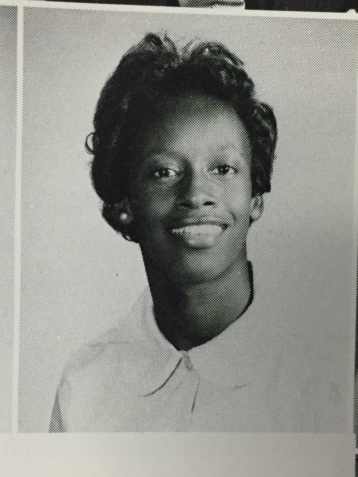 Triggs-Mercer's high school photo