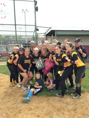 SJV Softball defeated Midd. North 4-1 on Saturday for the MCT title