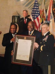 The West Point awards ceremony for the prestigious