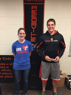 The Reedsville High School May Students of the Month are Katherine Winrich and Cole Knier.  Students of the Month are chosen by teachers based on academic performance, academic growth and/or demonstration of leadership within the high school.