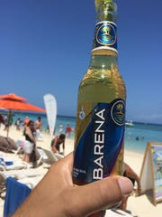 Barena is quite refreshing given the tropical weather and lime stuffed in the neck of each bottle, which perks up an otherwise pretty unremarkable and bland flavor.