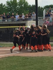 Gibsonburg's Libby Henderson, 20, was recognized first-team