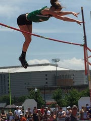 Margaretta sophomore Kassidie Stimmel finished fourth in the pole vault Friday.