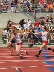 St. Joseph Central Catholic's 4x400 relay was sixth