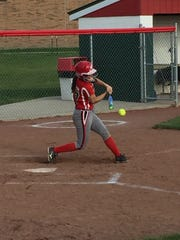 Oak Harbor's Emma Bergman was recognized first-team all-district.