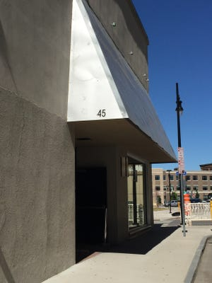 Fuego Coffee Roasters will relocate to 45 Euclid, near the new home of the Democrat and Chronicle, shown in the background.