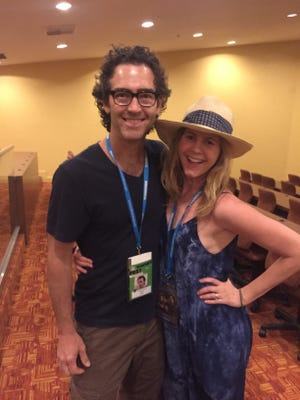"""John Fortson and Christie Lynn Smith produced and star in the short film, """"Rated,"""" now being made into a feature."""