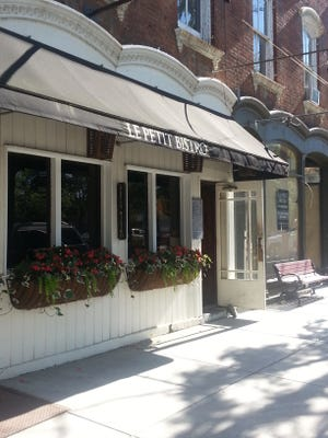 Le Petit Bistro, located on Main Street in Rhinebeck.