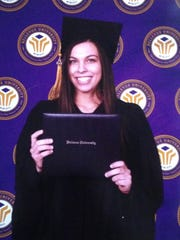 Sarah Root, 21, graduated from Nebraska's Bellevue University on Jan. 30, 2016. She died from injuries sustained in a Jan. 31 accident.