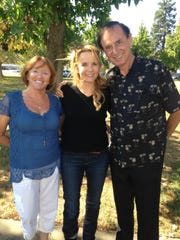 Charlotte Lucas, actor Lea Thompson and Lucas Oil Products